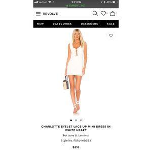 BNWT For Love & Lemons Charlotte Dress Size Small